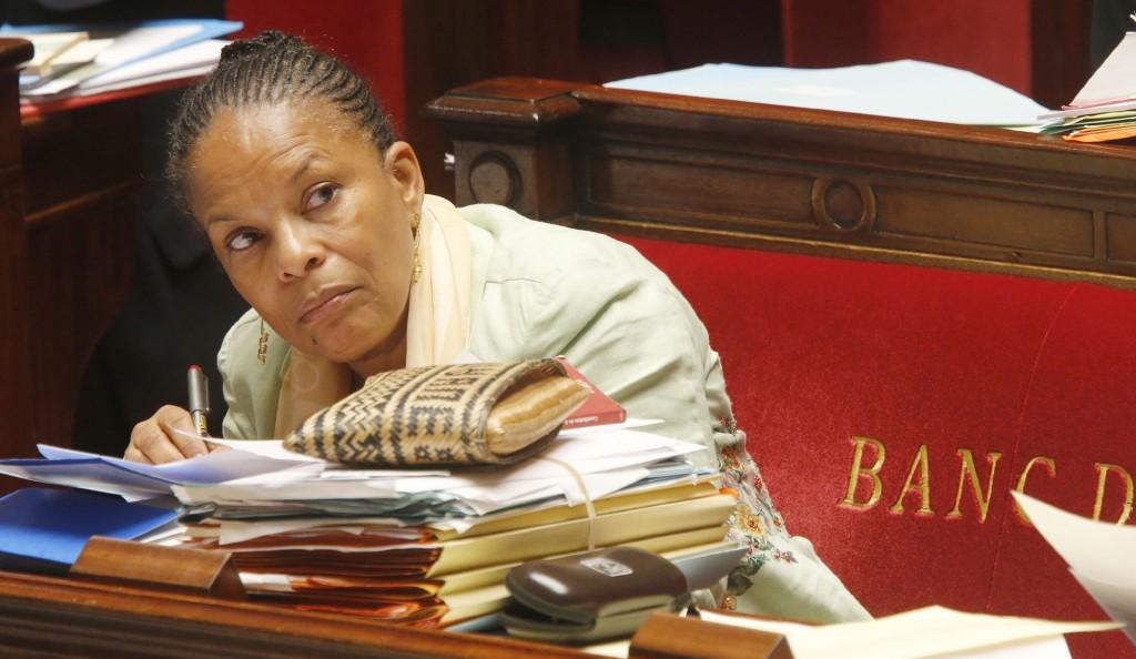 Christiane Taubira a peur du débat taubira