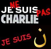 Je ne suis pas Charlie je suis noun